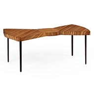 Jonathan Charles Home Satinwood Bowtie Coffee Table 494786