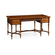 Jonathan Charles Home Napoleon III Style Writing Table with Fine Inlay