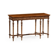 Jonathan Charles Home Napoleon III Style Console with Fine Inlay 494912
