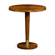 "Jonathan Charles Home 36"" Round Cosmo Bar Table 495177-36D-BT"