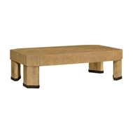 Jonathan Charles Home Rectangular Oyster Coffee Table in Natural Washed Oak 495648