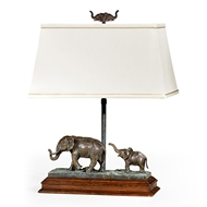 Jonathan Charles Lighting The Elephant Table Lamp (Right) 495762-RGT