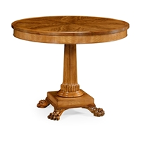 Jonathan Charles Home Round Natural Alder Centre Table