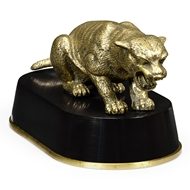 Jonathan Charles Home Antique Bronze Cougar 495925