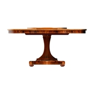 "Jonathan Charles Home 53"" Mahogany Dining Table 499515"