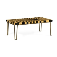 Jonathan Charles Home 3D Op Art Coffee Table 500080