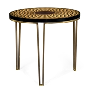 Jonathan Charles Home Helical Round Lamp Table 500081