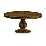 "Jonathan Charles Home 65"" Havelock Kitchen Oak Table 530042-65D"