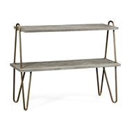 Jonathan Charles Home Gennesso Grey Oak Console 530181