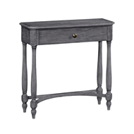 Jonathan Charles Home Antique Dark Grey Small Console Table with Drawer 491017