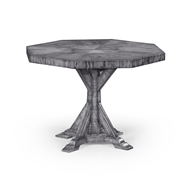 Jonathan Charles Home Octagonal Country Walnut Centre Table 491082-42D