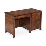 Jonathan Charles Home Parquet Kneehole Desk