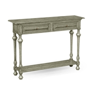 Jonathan Charles Home Elizabethan Style Dark Oak Console (Small) 493367