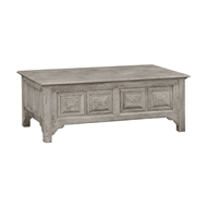 "Jonathan Charles Home Dark Oak ""Coffer"" Coffee Table 493552"