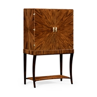 Jonathan Charles Home Art Deco High Lustre Drinks Cabinet 494161