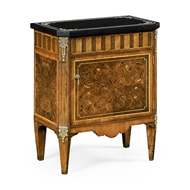 Jonathan Charles Home Small Satinwood & Cream Scagliola Italian Commode 494178