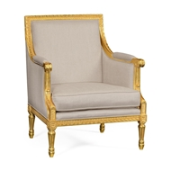 Jonathan Charles Home Occasional Chair Upholstered in COM 495434
