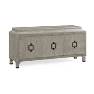 Jonathan Charles Home Antique Blue Oak Three-Door Buffet 495669