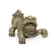 Jonathan Charles Home Antique Brass Foo Dog 495937