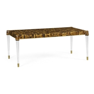 Jonathan Charles Home Ivory Painted Coffee Table 500160
