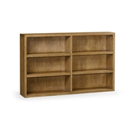 Jonathan Charles Home Brushed Medium Brown Oak Bookcase 540071