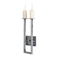 Lowcountry Originals 2 Lights U Arm Sconce