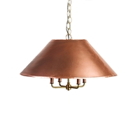 Lowcountry Originals 2 Piece Copper Shade Chandelier