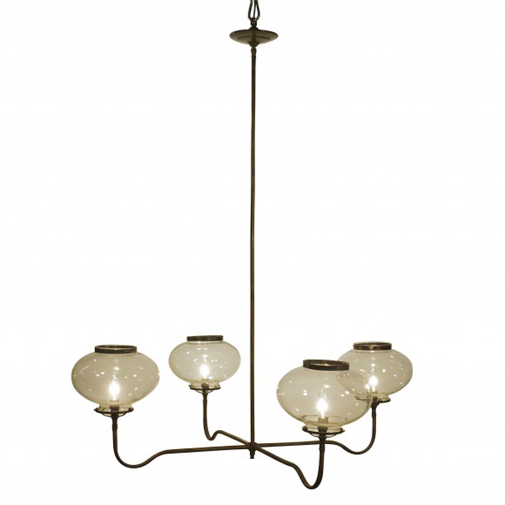 Lowcountry Originals 4 Light Gas Replica Chandelier LCO-010