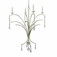 "Lowcountry Originals ""C"" Shape Marsh Grass Chandelier"