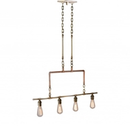 Lowcountry Originals Copper & Brass Chandelier