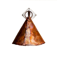Lowcountry Originals Copper Cone  Sconce