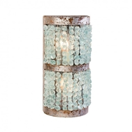Lowcountry Originals Crystal Half Round Sconce LCO-191