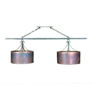 Lowcountry Originals Double Copper Drum Chandelier