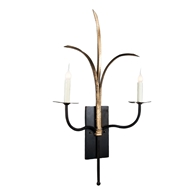 Lowcountry Originals Double Grande Marsh Grass Sconce