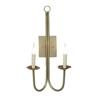 Lowcountry Originals Double J Arm  Sconce