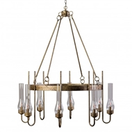 Lowcountry Originals Eight Light J Chandelier