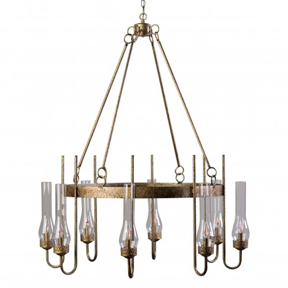 Lowcountry Originals Eight Light J Chandelier LCO-163