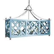 Lowcountry Originals Elongated Chippendale Chandelier