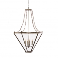 Lowcountry Originals Four Strand Crystal Top Lantern LCO-169