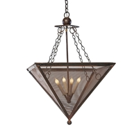 Lowcountry Originals Inverted Pyramid Chandelier