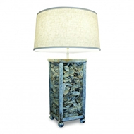 Lowcountry Originals Lamp with ShellLCO-L35-SH
