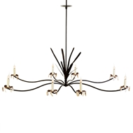 Lowcountry Originals Marsh Grass Shell Chandelier