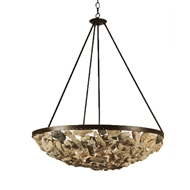Lowcountry Originals Shell Bowl Chandelier