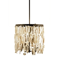 Lowcountry Originals Shell Drum Chandelier