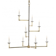 Lowcountry Originals Staggered Arm Chandelier