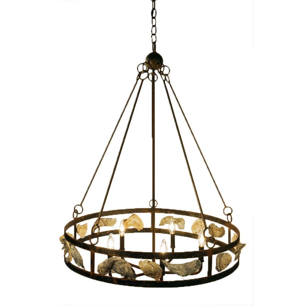 Wagon wheel chandelier made in usa lowcountry originals lighting lowcountry originals wagon wheel chandelier arubaitofo Images