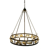 Lowcountry Originals Wagon Wheel Chandelier