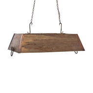 Lowcountry Originals Wooden Trough Chandelier