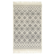 Magnolia Home Holloway Rug by Joanna Gaines - Black & Ivory