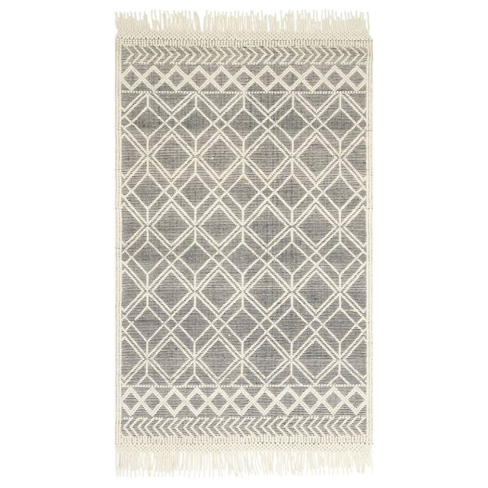 Magnolia Home Holloway Rug by Joanna Gaines - Black & Ivory HOLLYH-04BLIV